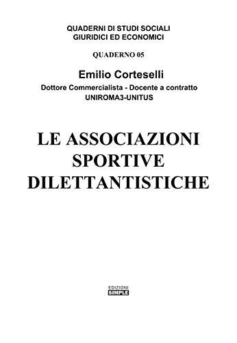 Le associazioni sportive dilettantistiche