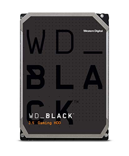 WD Black Performance Desktop Hard Disk Drive da 1 TB, 7200 RPM, SATA 6 Gb/s, Cache 64 GB, 3.5""