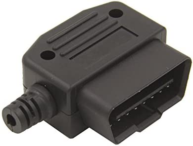 OBD2 16Pin Connector OBD Male Plug 90 Degrees Transfer OBD2 Adaptor Car Accessories Tool Golden product image