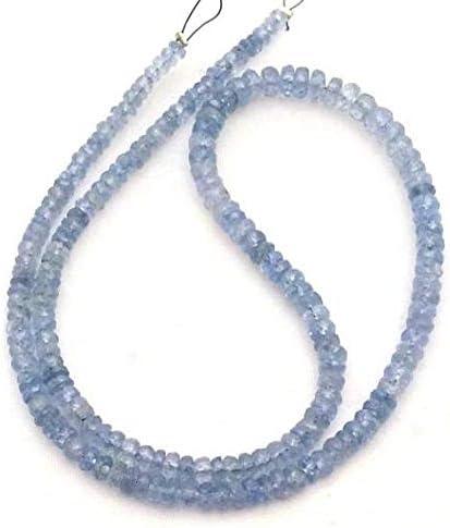 GEMS-WORLD Beads Gemstone Natural Some reservation 2 Sapphire Regular discount Blue Faceted