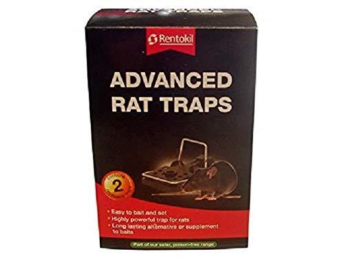 RENTOKILL Advanced Rat Traps Twin Pack
