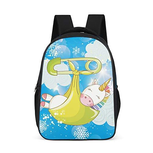 Toomjie Serie Schulranzen Super Leicht Schultasche Backpack Teenager Schule Tagesrucksack Funktionsrucksack für Wandern Seitentaschen