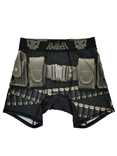 Marvel The Punisher Mens Boxer Briefs X-Large (40-42)