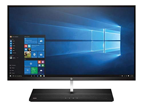 Hewlett Packard 2LT10AW#ABD All-in-One Desktop PC (Intel Core i5-7500, 8GB RAM, Intel HD Graphics 630, Win 10 Pro) Schwarz
