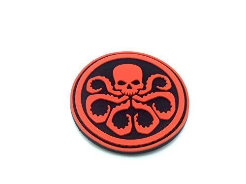 Hydra Avengers PVC Airsoft Paintball Klett Cosplay Emblem Abzeichen Patch