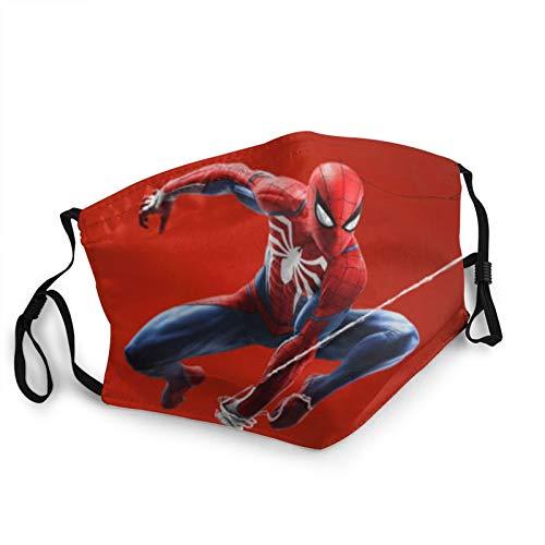 Spiderman - Pasamontañas transpirable y ajustable para adultos, unisex