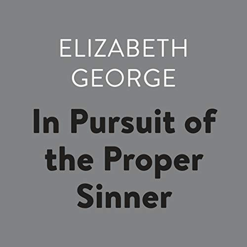 In Pursuit of the Proper Sinner audiobook cover art