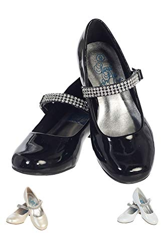 Top girls dress shoes black for 2021