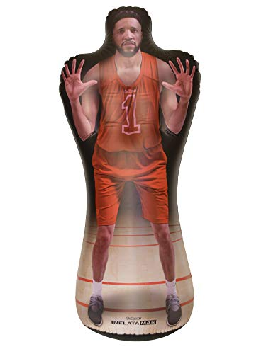 GoSports Inflataman Basketball Defender Training Aid - Weighted Defensive Dummy for Shooting, Dribbling and Driving Drills