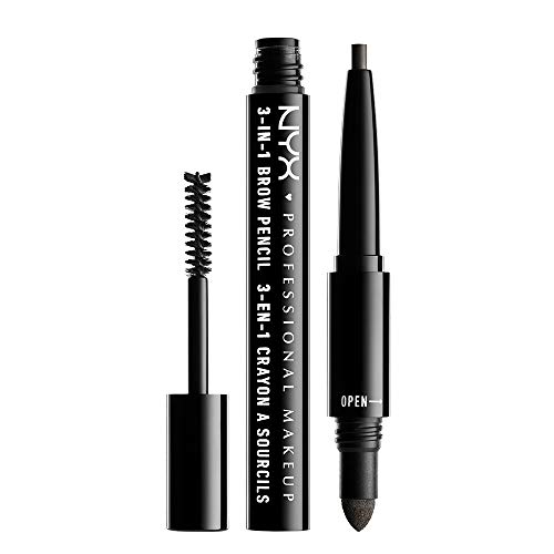 NYX 3-In-1 Brow Pencil - Charcoal