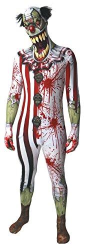 Clown Orc jaw Dropper Morphsuit Monster costume–Taglia XXL–15,2cm 2–15,2cm 9(186cm-206cm)