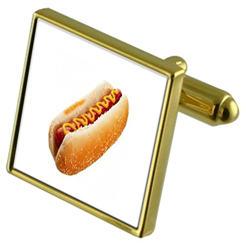 Select Gifts Or hot-dog-ton de manchette Crystal-cravate Cadeau