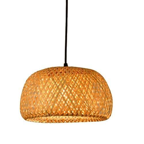 GaLon Modern bamboe met de hand gebreide bamboe weven Kron Chandelier Restaurant Handgemaakte bamboe lantaarn kroonluchter Kron hotel decoratie lamp