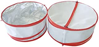 Ming's Mark FC-68103 Collapsible Insulated Food Covers - 2 Per Set