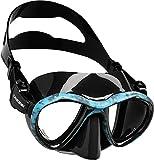 Cressi Metis Mask Máscara para apnea y Photo Sub, Volumen Interno...