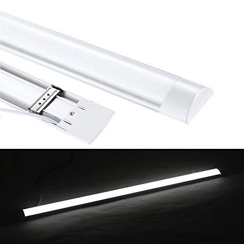 LED Feuchtraumleuchte 120cm,40W Deckenleuchte LED Lampen 4000k 4200 Lm, IP65 Wasserfest für Einsatz im Aussenbereich geeignet Keller Werkstatt Hobbyraum [Energieklasse A++] Neutrales Weiß