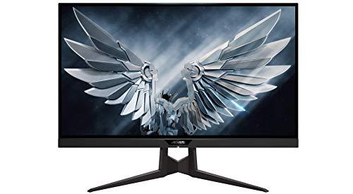Gigabyte AORUS FI27Q-P - LED monitor - 27u0022 - 2560 x 1440 @ 165 Hz - IPS - 350 cd/m������ - 1000:1 - 1 ms - 2xHDMI, DisplayPort