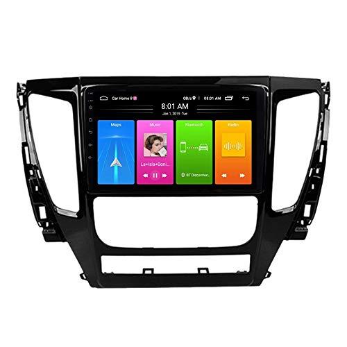 Varadyle 9 Pulgadas 2 DIN Android 10 Car MP5 Player Radio 2 + 16GB WiFi NavegacióN GPS para Pajero Strong 2016-2018
