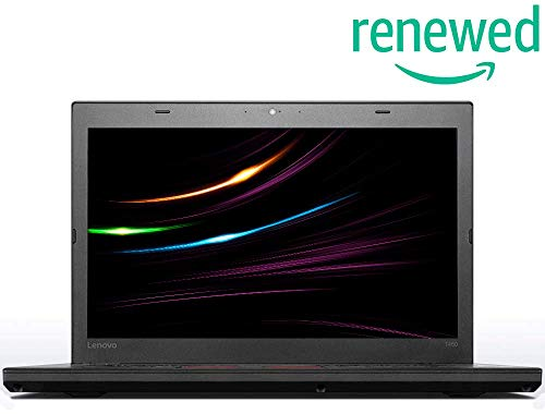 Lenovo ThinkPad T460 Business Notebook, Intel i5 2 x 2.4 GHz Prozessor, 8 GB Arbeitsspeicher, 240 GB SSD, 14 Zoll Display, Full HD, 1920x1080, IPS, Windows 10 Pro, S1G (Generalüberholt)