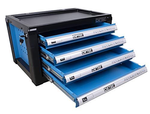 DeTec. Werkzeugkiste/Werkzeugkasten inkl. 175 tlg. Werkzeugsortiment - 4