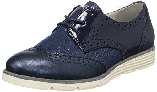 s.Oliver s.Oliver Damen 23623 Oxfords, Blau (Navy Comb.), 38 EU