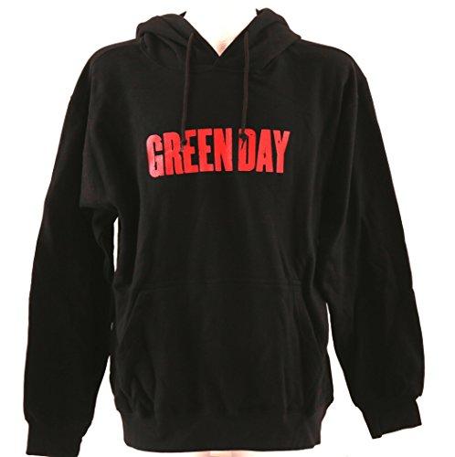 BAD TASTE Hoodie Green Day Kapuzenpullover Nr. 1 Größe XL schwarz beidseitig Siebdruck