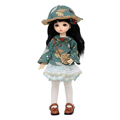 BJD Doll 10 Inch 1/6 SD Dolls for Age 3 4 5 6 7 Years Old Kids Dolls for Girls Baby Cute Doll Toy with Clothes and Shoes Birthday Gift for Girls - Moti Toys