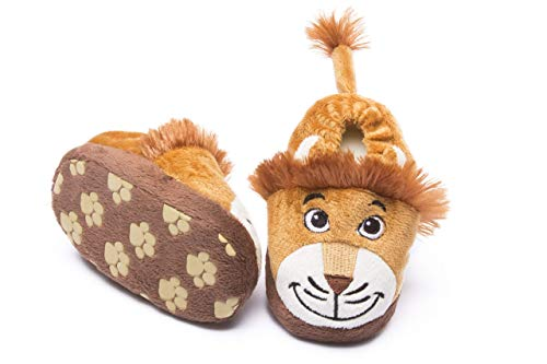 pantofole bambino leone Leone bambino Leone bambino pantofole 06 12 mesi antiscivolo e antiscivolo bambino e bambino pantofole presa di sicurezza
