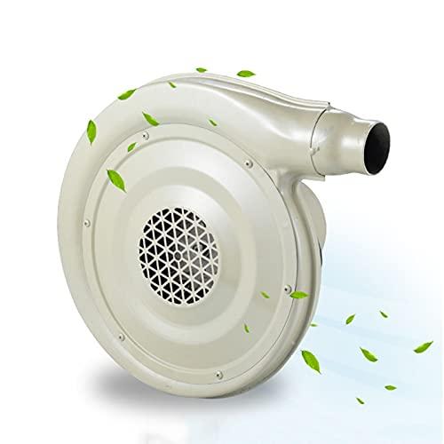Uppblåsbara fläkt, elektrisk luftpump fläkt, hoppslottet Bounce House Luftfläkt, centrifugal elektrisk luftfläkt, för uppblåsbara tält, uppblåsbara kolumnanvändning, järnväska, vit,250W