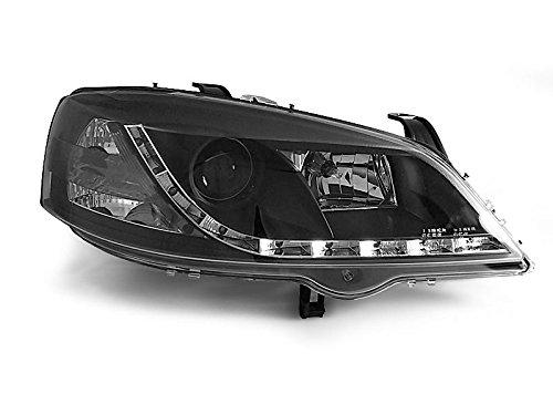 1 paar koplampen – Astra G 97-04 Daylight LED zwart (P40)