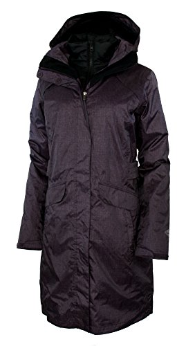 Columbia Timber Pointe Women's Printed Long Omni Heat Interchange Waterproof Jacket Parka (S, Dusty Purple Printed)