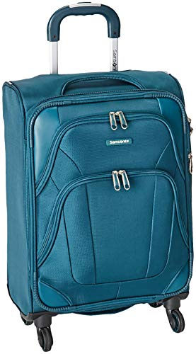 Samsonite Dakar-Lite Spinner Unisex Small Blue Polyester Luggage Bag TSA Approved 330045019