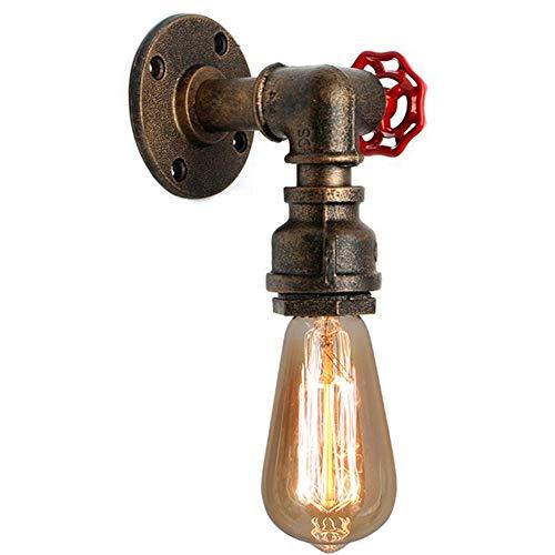 Applique Vintage Industrial, Lampada ad Acqua Retrò in Metallo Steampunk Arredamento in Stile Rustico per Casa Pub Caffè Hotel