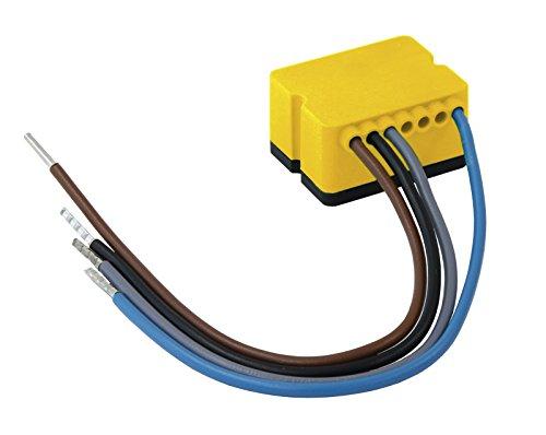 digitalSTROM GE-TKM210 Licht Tasterklemme 1-fach mit Dimmer 0.4 W, gelb