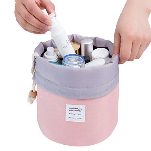 Frcolor Sac de toilette portable Sac de rangement lavable Organisateur de maquillage imperméable