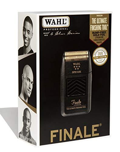 Wahl Finale Lithium - Maquina de afeitar