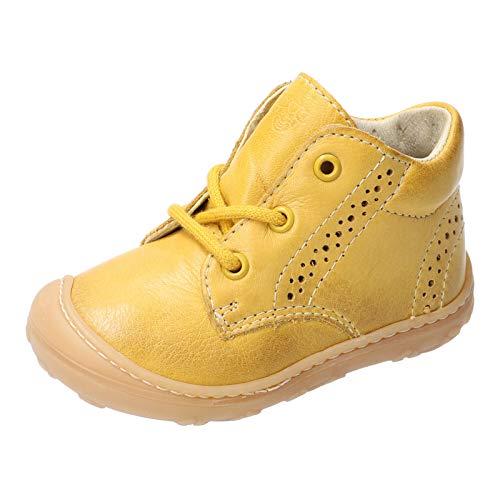 RICOSTA Unisex - Kinder Lauflern Schuhe Kelly von Pepino, Weite: Mittel (WMS), leger schnürschuh schnürstiefelchen flexibel,Sonne,26 EU / 8 Child UK