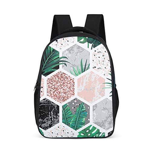 Plants Baby Boy's&Girl's Schoolbags Lightweight Perfect Size for Youth grey onesize