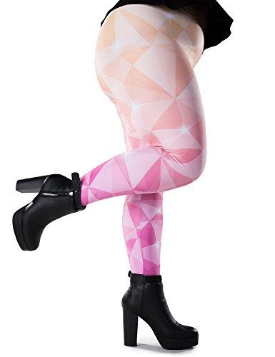 Bombsheller Badass Plus-Size Leggings