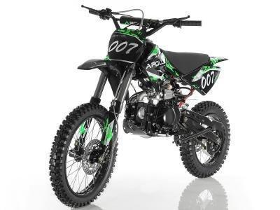 Apollo DB-007 125cc Dirt Bike Green
