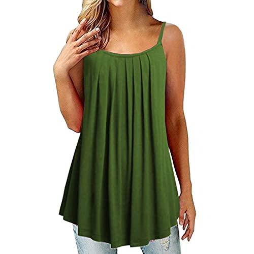 Damen Top Sommer sexy Locker Unterhemd...