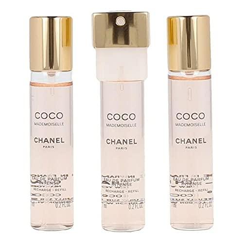 Chanel S0576980 Perfume Unisex Coco Mademoiselle, Agua De Parfume, 3 X 7 ml - Pack de 3