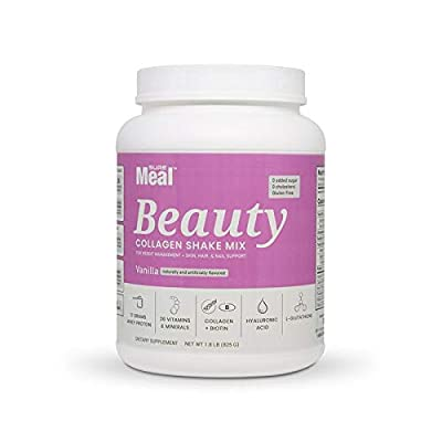 Ultra Premium Nutritional Shake Mix Suremeal Beauty with Collagen & Ha Net Weight 1.8 lb (825g)