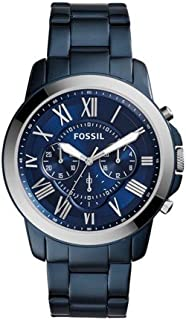 Fossil Men's Grant Analog quartz Blue Watch, (FS5230)