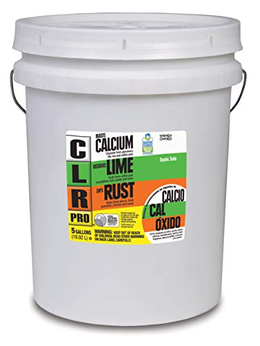 CLR PRO Calcium, Lime and Rust Remover, 5 Gallon Pail