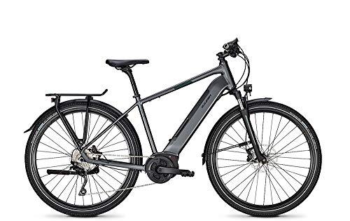 RALEIGH Kent 10 XXL Freilauf 13,4Ah Herren E-Bike E-Trekking Elektrofahrrad diamondblack matt 2020 RH 53 cm / 28 Zoll