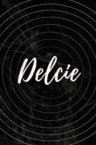 Delcie: Personalized Sketchbook with Name Delcie | Blank Writing Drawing Notebook