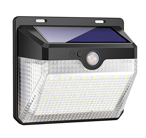 Luce Solare Esterno, Kilponen 60 LED Lampada Solare con Sensore...
