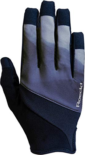 Roeckl Maira Youngsters Kinder Fahrrad Handschuhe lang grau/schwarz 2020: Größe: 6