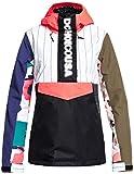 DC Envy Anorak SE Snowboard Jacket Womens Sz S Multi Repurpose Print